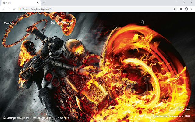 Ghost Rider HD Wallpapers New Tab