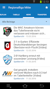 Ligaportal Fußball Live-Ticker- screenshot thumbnail