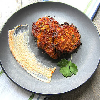 Hanukkah Sweet Potato Latkes Recipe