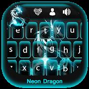 Neon Dragon Keyboard