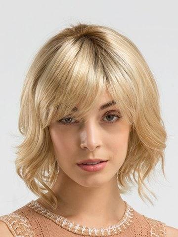 Inclined Bang Colormix Short Straight Synthetic Wig