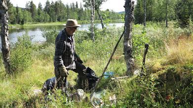 Photo: Fiskrökning på gång