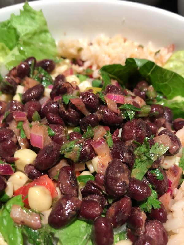Seasoned Black Beans Recipe