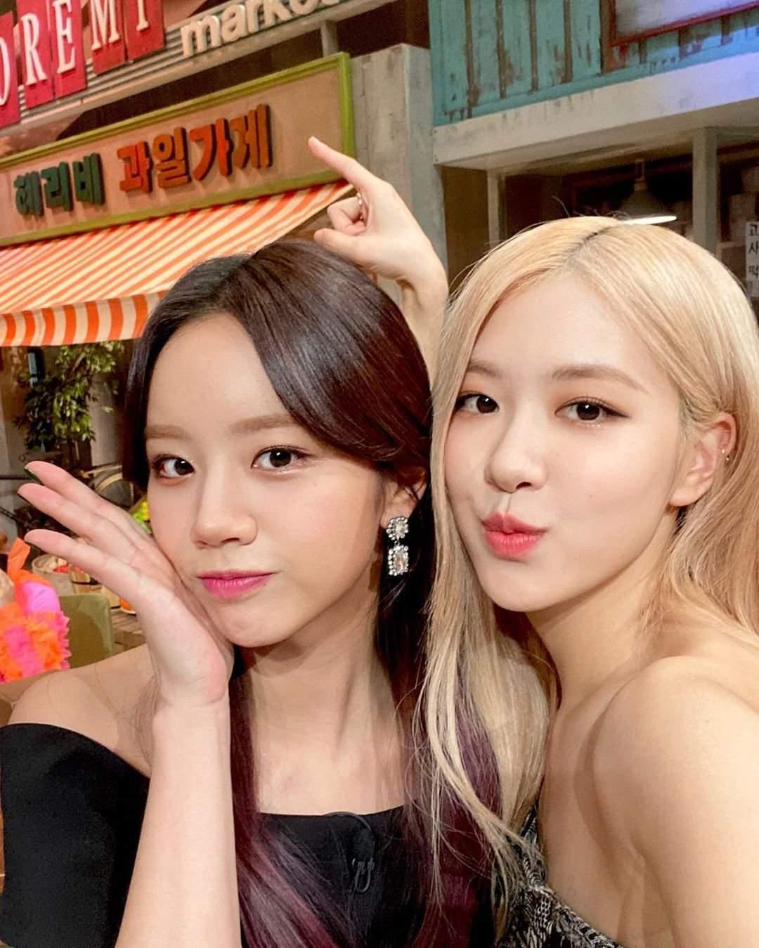 rose and hyeri