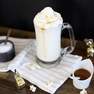 Salted Caramel White Hot Cocoa.