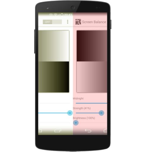 android 6 screen color calibration apk