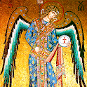 St. Michael the Archangel & the Gnostic Holy Grail icon