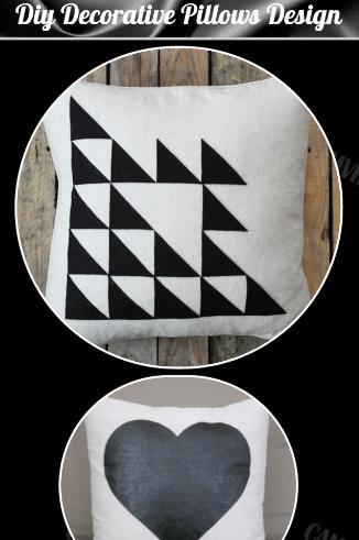 DIY裝飾枕頭設計