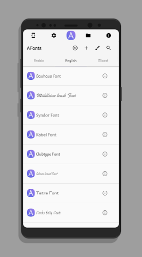 Fonts for Samsung & Huawei (AFonts) 4.5 screenshots 1