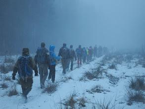 Photo: Утром попали в снежный заряд