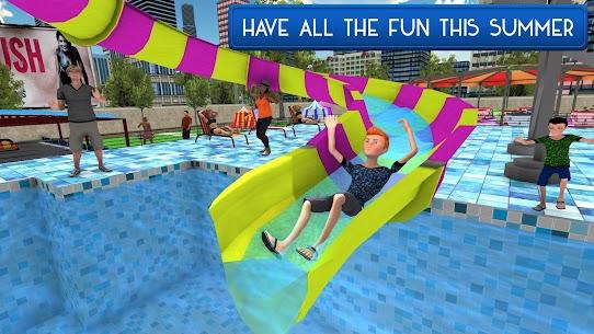 سباحة حوض السباحة الصيف مرح: الشرائح المياه مغامرة 3