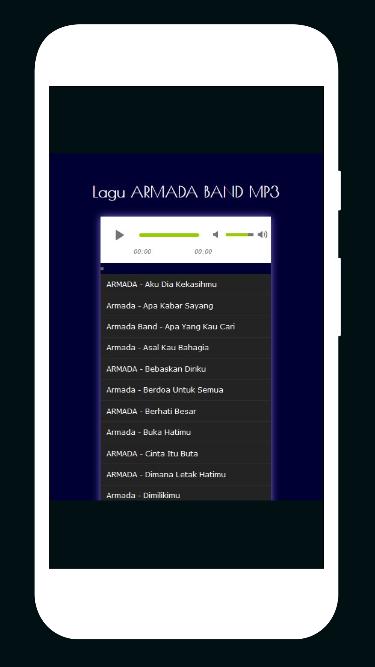 Lagu Armada Band Mp Screenshot