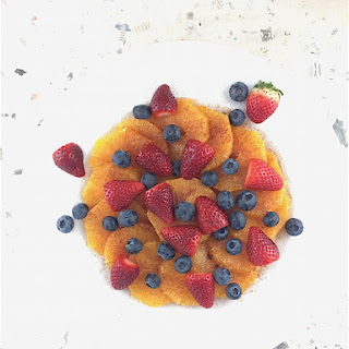 Fruited Summer Orange Dessert Salad with Orange Marmalade Cream Recipe