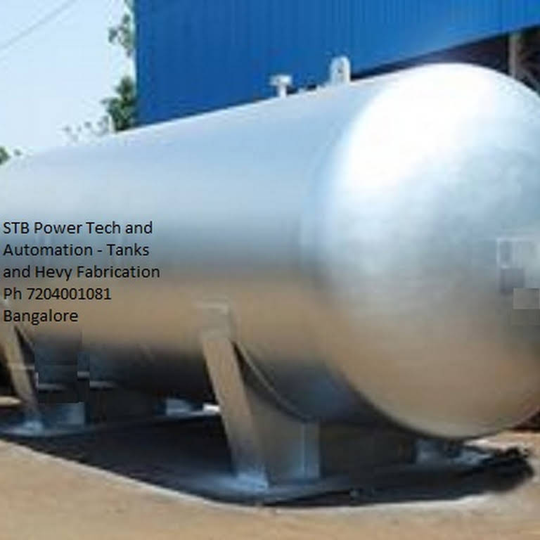 Industrial Tanks Manufactures (STB) Bangalore - Boiler