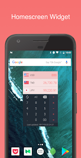 Currency-travel exchange rates- screenshot thumbnail