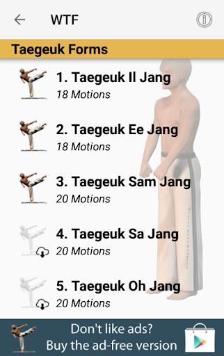 Taekwondo Forms (Sponsored) 1.11.1g screenshots 2