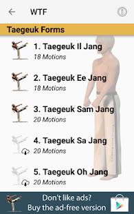 Taekwondo Forms (Sponsored) - náhled