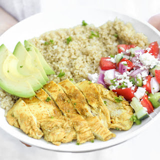 Chicken Shawarma Quinoa Bowls Recipe