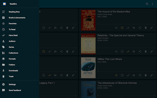 ReadEra - book reader pdf, epub, word 19.12.27+1120 screenshots 9