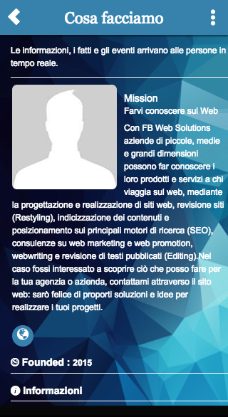 Social Web Solutions- screenshot