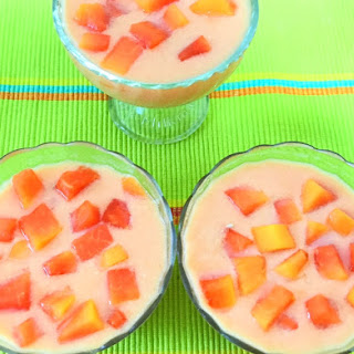 Papaya Pudding.