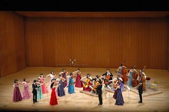 Photo: メインプログラム、チャイコフスキー:弦楽セレナーデ