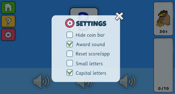 Find Letter Sound- screenshot thumbnail