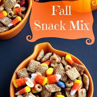 Fall Snack Mix.