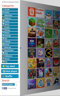 HTML5 Games 🌟 Club ⚡ HD 🎮- screenshot thumbnail