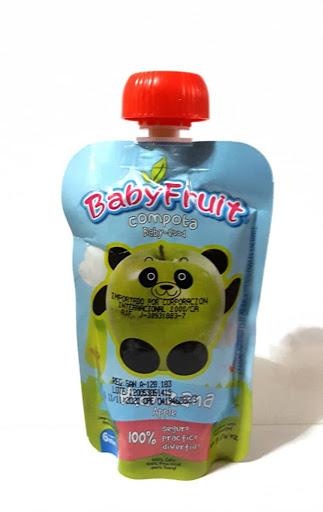 Compota Babyfruit Manzana Flexible 113 Gr