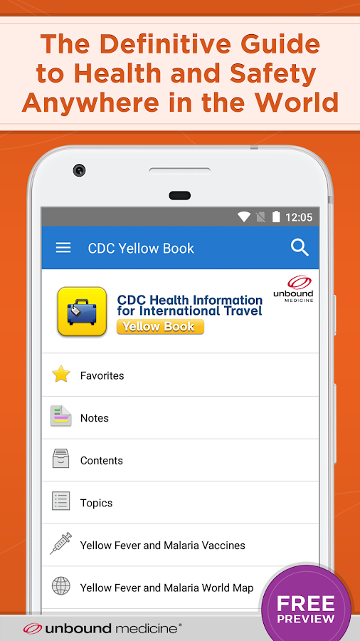 CDC Yellow Book 2018- screenshot