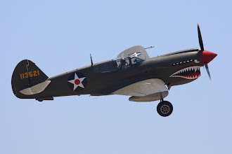 Photo: Curtiss P-40E Warhawk