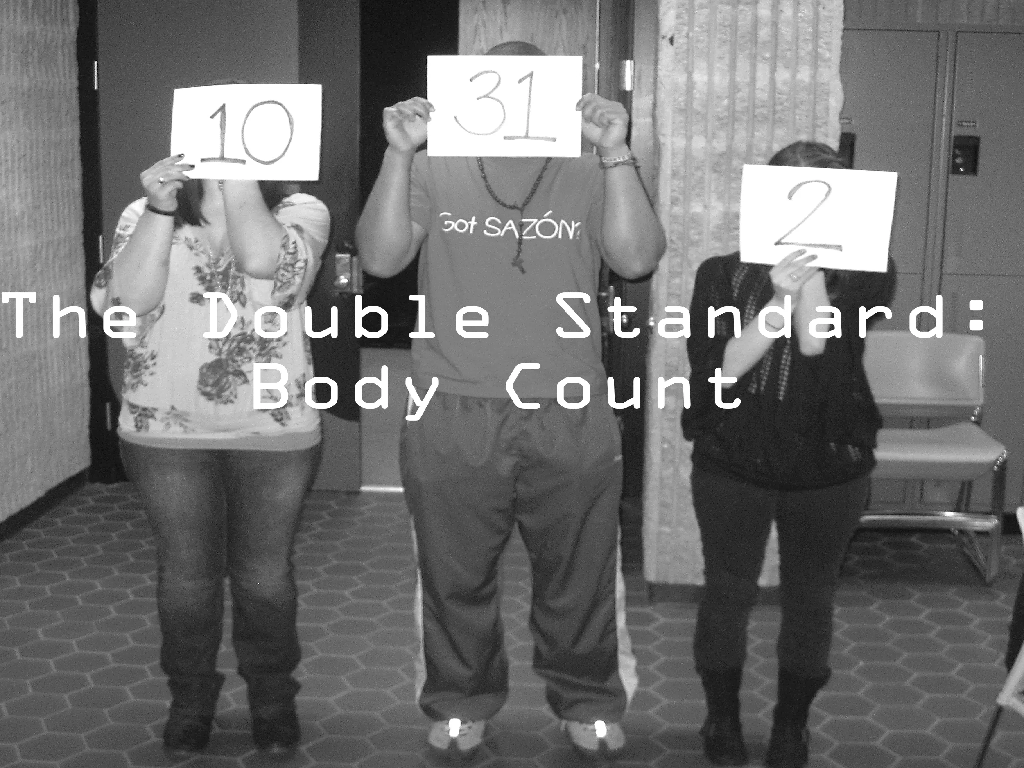 Woman's Body Count Vs Man's Body Count