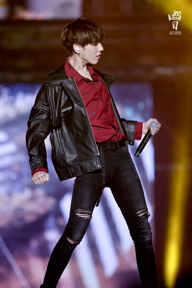 Image result for Yugyeom Their Leather