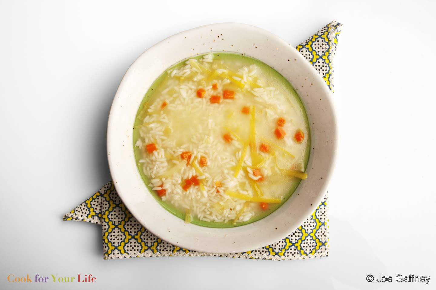 Leek & Rice Soup