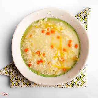 Leek & Rice Soup.