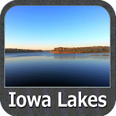 IOWA Lakes GPS Nautical Charts
