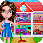 House Cleanup : Girl Home Cleaning Games icon