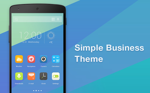 Simple Business-Solo Theme