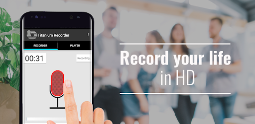 Titanium Voice Recorder with number ID - Apps on Google Play