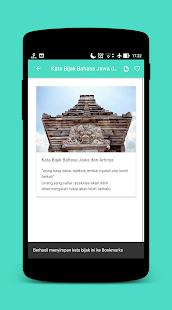 Kata Bijak Bahasa Jawa Caption Status Hileli Apk Indir 001