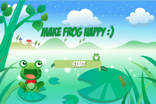 Make the frog happy