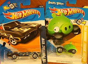 Photo: We found these two!! My favorite, a GTO and an Angry Birds car. So cute!