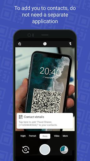 QR Card - business card cheat hacks