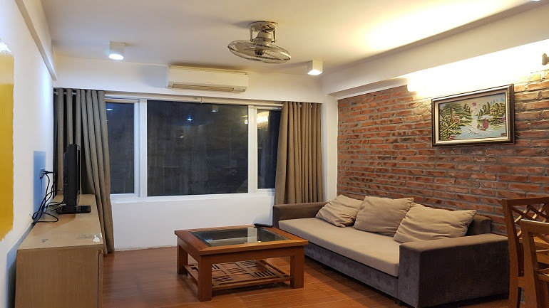 Cheap 1 – bedroom apartment in To Ngoc Van street, Tay Ho district for rent