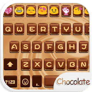 Chocolate Love Emoji Keyboard