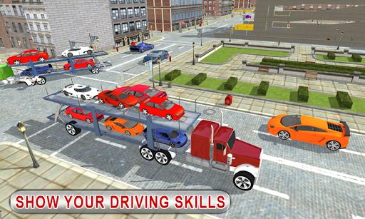Truck Car Transport Trailer Games 1.5 screenshots 12