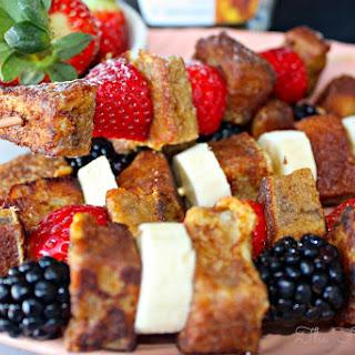 French Toast Fruit Kabobs