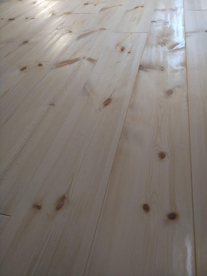 リフォーム床材パイン材