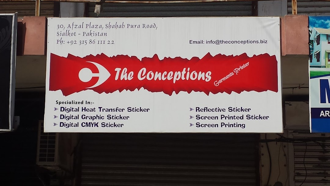 The Conceptions - Sportswear / Garments Printing Solutions